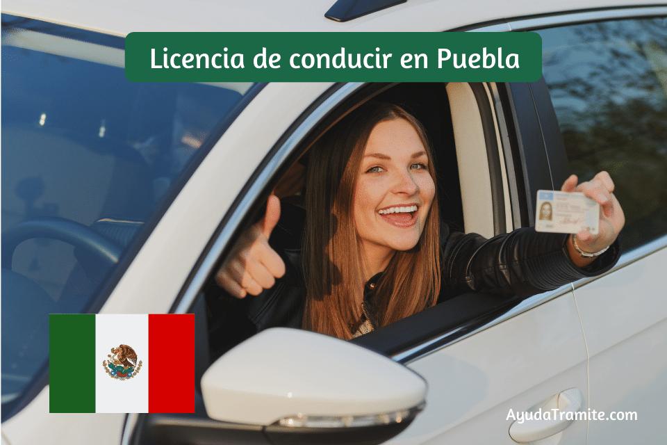 Licencia de conducir en Puebla